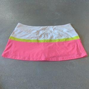 Nike Skirts - Nike NWOT Dri-Fit Tennis Skirt Skort Biker Neon XL